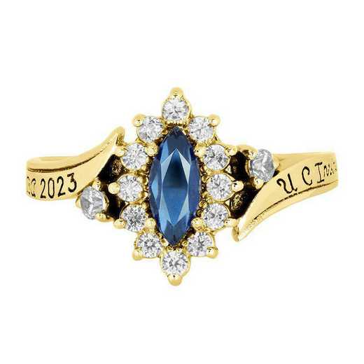 California Irvine Women's Allure Ring College Ring