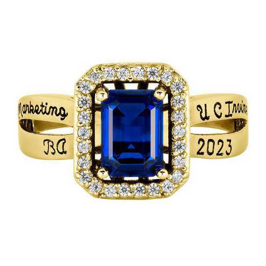 California Irvine Women's Inspire Ring College Ring