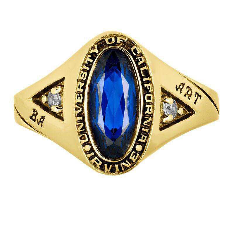 California Irvine Women's Signature Ring College Ring