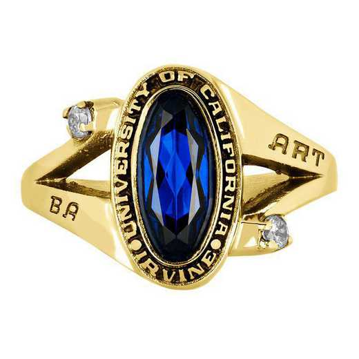 California Irvine Women's Symphony Ring College Ring