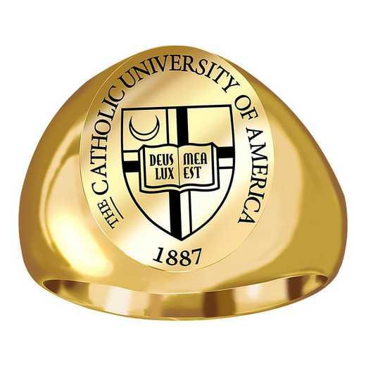 The Catholic University of America Men's Official Ring
