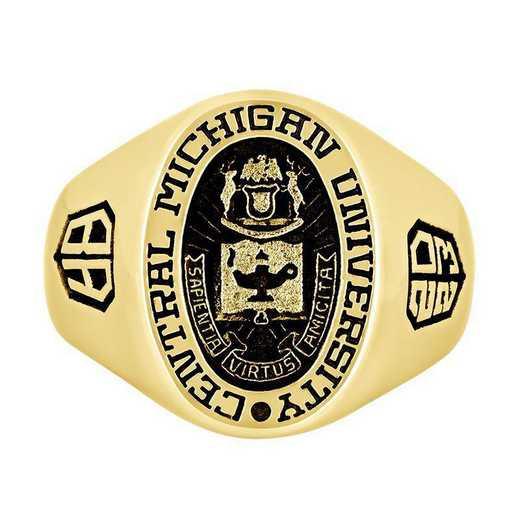 Central Michigan University Men's Large Signet  College Ring