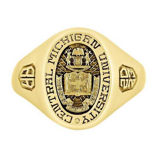 Central Michigan University Women's Small Signet  College Ring