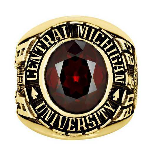 Central Michigan University Multi-Choice Standard Men's Traditional  College Ring