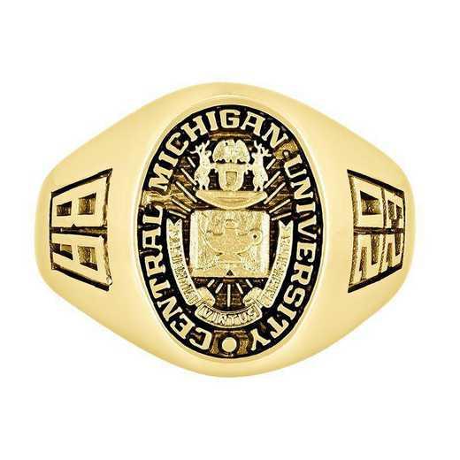 Central Michigan University Men's Executive  College Ring