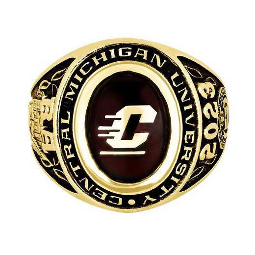 Central Michigan University Men's Galaxie I  College Ring