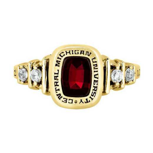 Central Michigan University Women's Highlight  College Ring