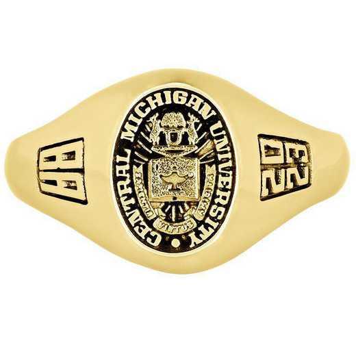 Central Michigan University Women's Laurel  College Ring