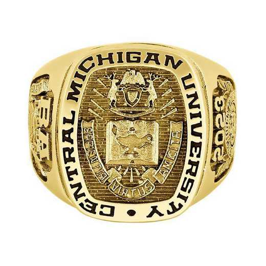 Central Michigan University University Men's Legend Signet College Ring