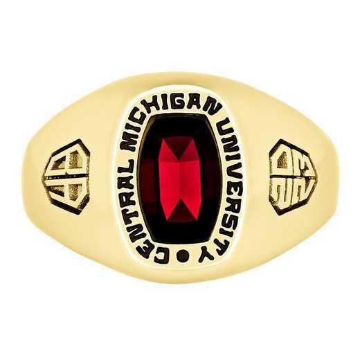 Central Michigan University Men's Monarch  College Ring