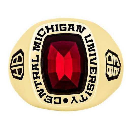 Central Michigan University Men's Seahawk  College Ring