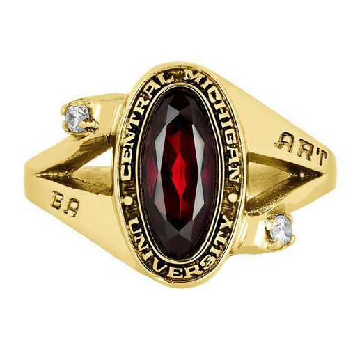 Central Michigan University Women's Symphony  College Ring