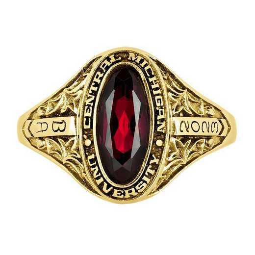 Central Michigan University Women's Trellis  College Ring