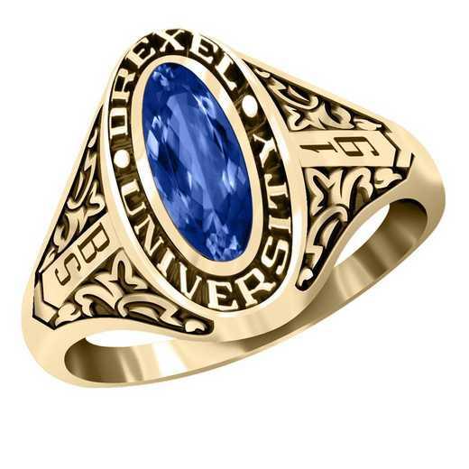 Drexel University Women's Trellis Ring