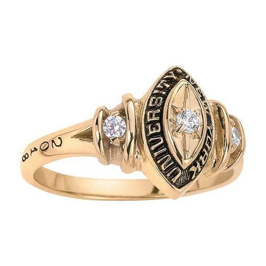 New York University Duet Ring