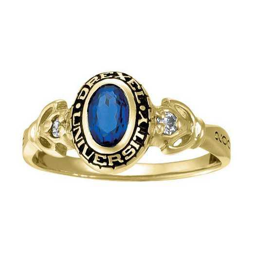 Drexel University Women's Twilight Ring