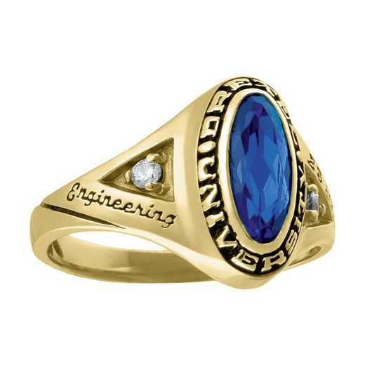 Drexel University Women's Signature Ring