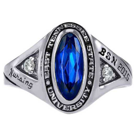 East Tennessee State University Women's Signature Ring