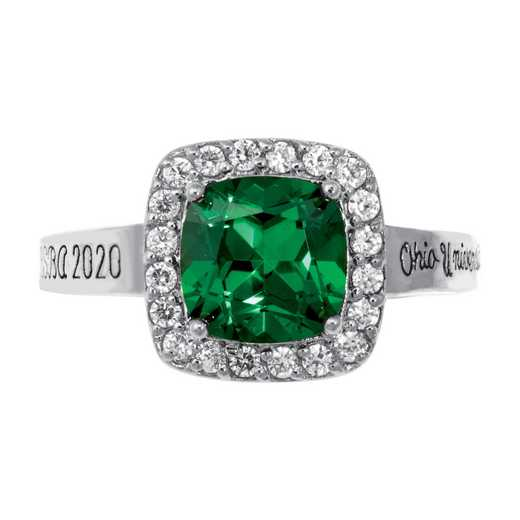 Ohio University Follett Bookstore Women's Embrace v2 Ring