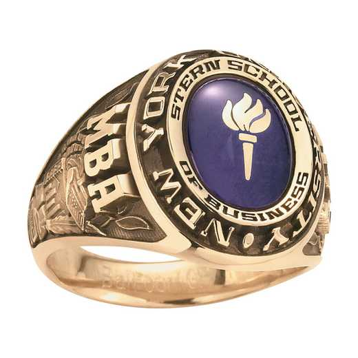 New York University Men's Galaxie I Ring