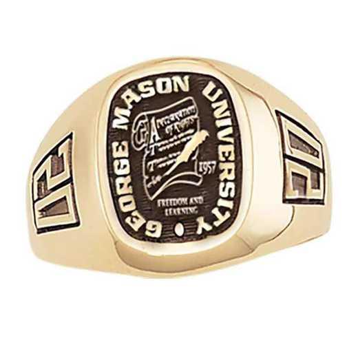 George Mason University Men's Diplomat College Ring