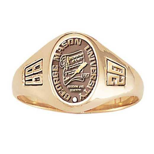 George Mason University Women's Laurel College Ring