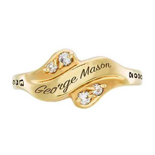 George Mason University Women's Seawind College Ring