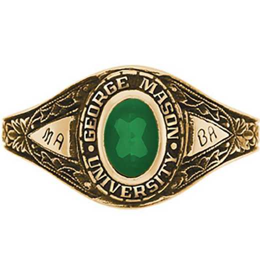 George Mason University Women's Bouquet College Ring