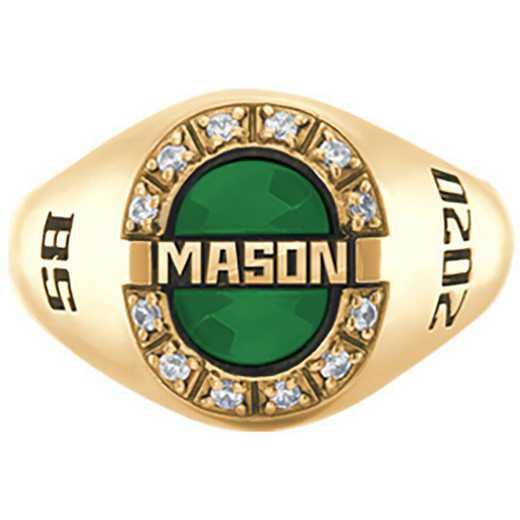 George Mason University Women's Enlighten College Ring