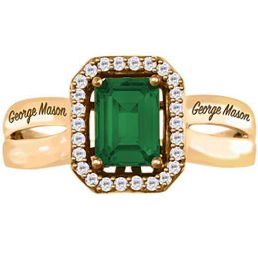 George Mason University Women's Inspire College Ring