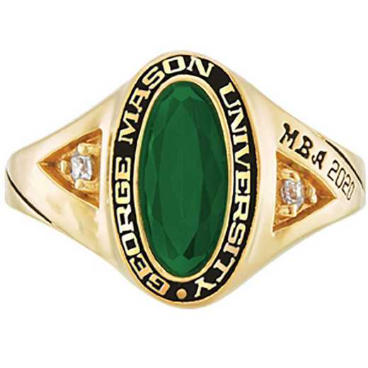 George Mason University Women's Signature College Ring