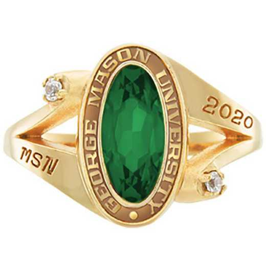 George Mason University Women's Symphony College Ring