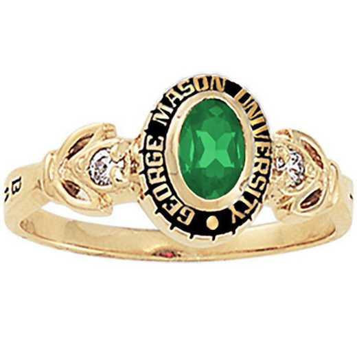 George Mason University Women's Twilight College Ring
