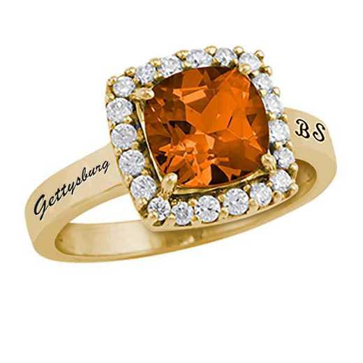Gettysburg College Women's Embrace College Ring
