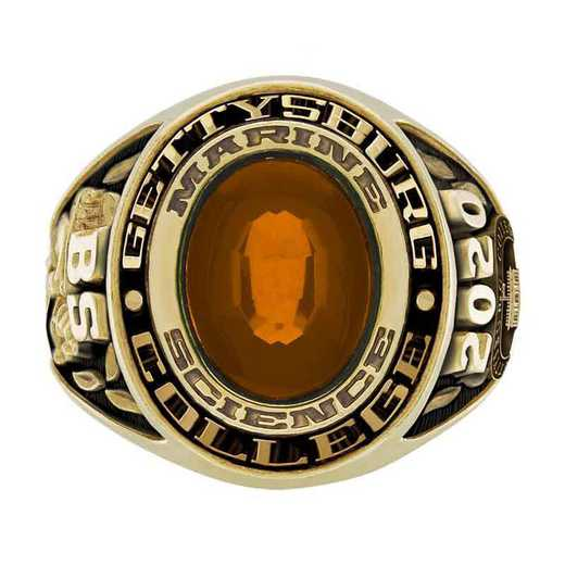 Gettysburg College Men's Galaxie I College Ring