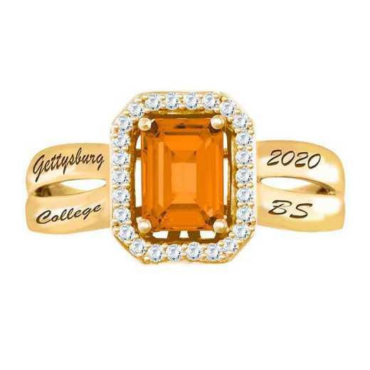 Gettysburg College Women's Inspire College Ring