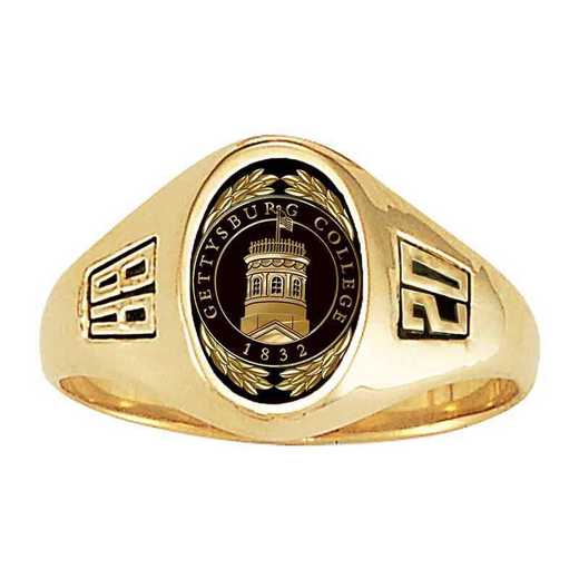 Gettysburg College Women's Laurel College Ring