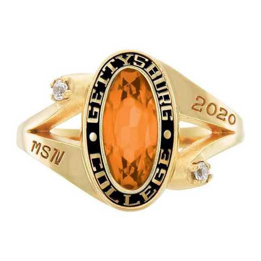 Gettysburg College Women's Symphony College Ring