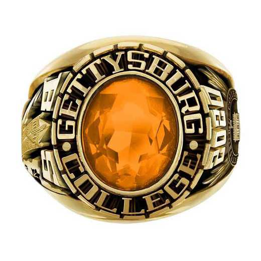 Gettysburg College Men's Large Traditional College Ring