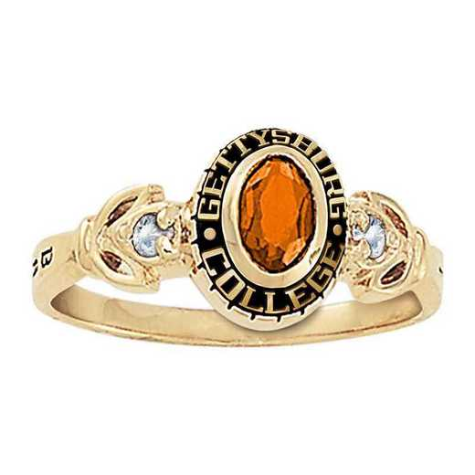 Gettysburg College Women's Twilight College Ring