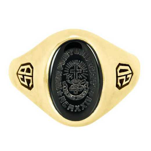 High Point University Women's 345SS Signet Ring