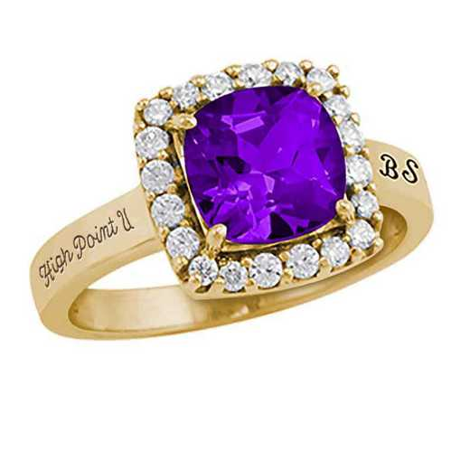 High Point University Women's Embrace College Ring
