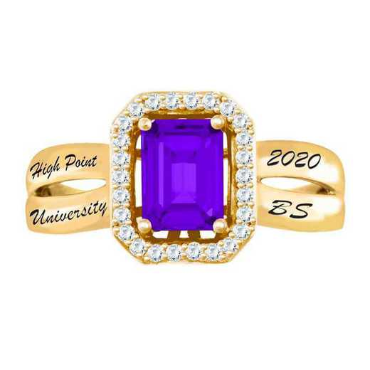 High Point University Women's Inspire College Ring