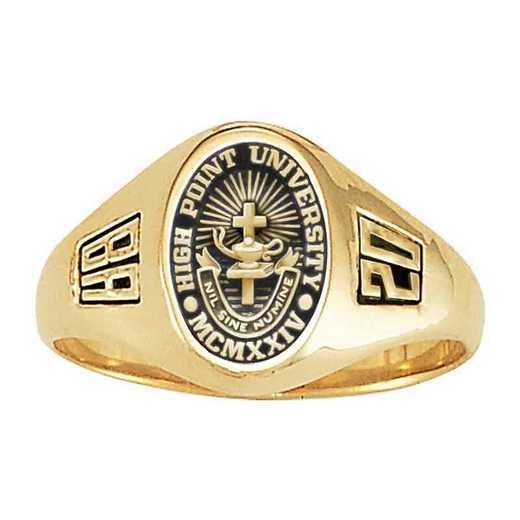 High Point University Women's Laurel College Ring
