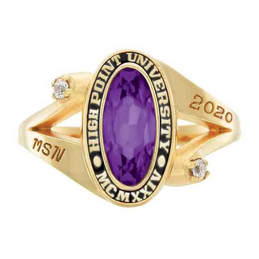 High Point University Women's Symphony College Ring