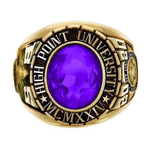 High Point University Men's Large Traditional College Ring