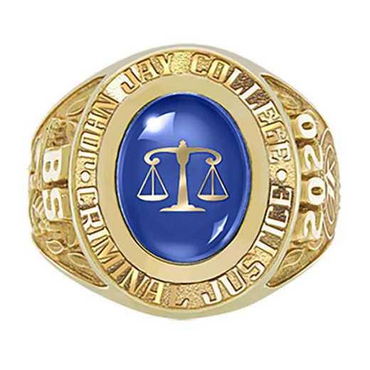 John Jay College Men's Galaxie I Ring