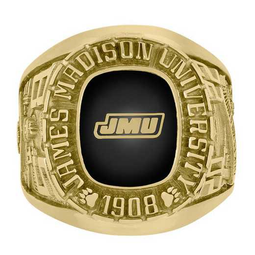James Madison University Class Of 2023 Men's Rose with Square Stone