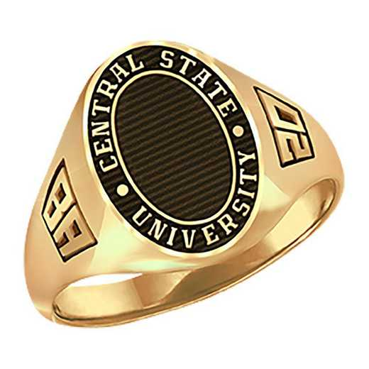 Women's Round Medallion Signet Ring