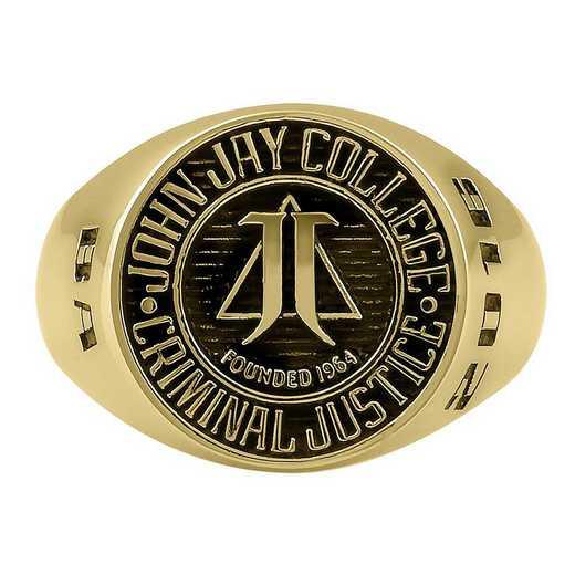 John Jay College of Criminal Justice Large Medallion Signet